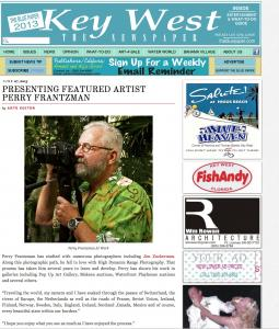 The Blue Paper Featured Artist